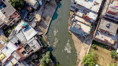 Assi River birds eye view